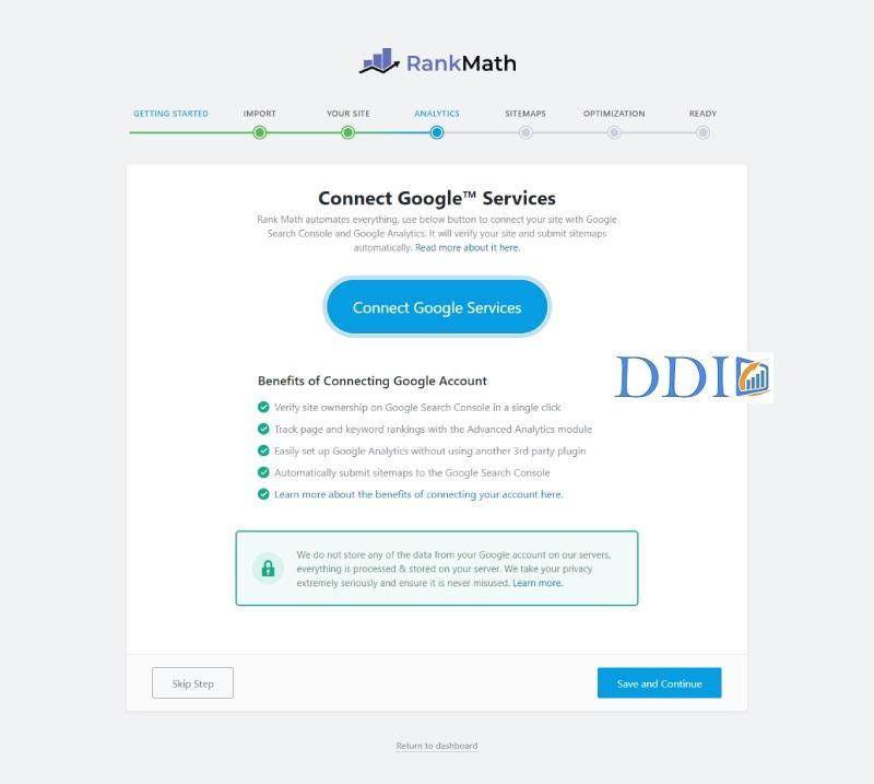 Kết nối website với các hệ thống của Google