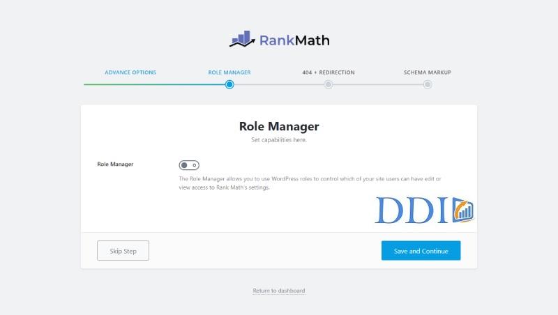 Tùy chỉnh phân quyền sử dụng Rank Math SEO cho các tài khoản trên website