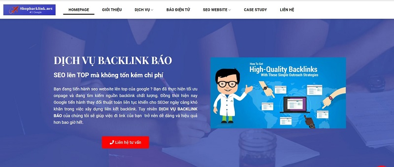 Dịch vụ Guest Post của shopbacklink.net