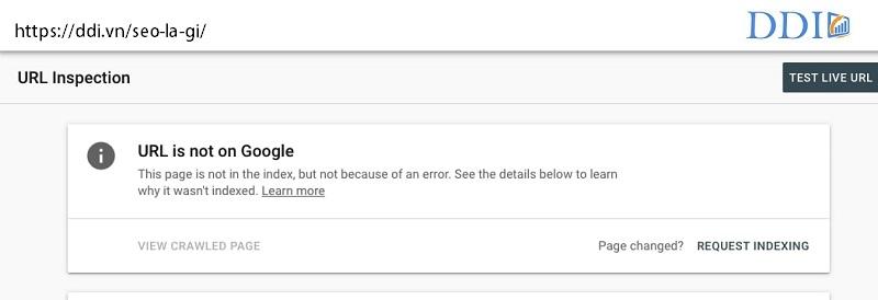 Thẻ No index được gắn khi các trang bị trùng lặp hoặc được thiết lập dành cho những người dùng đặc biệt. Và nếu bạn muốn chặn Google tìm kiếm thấy trang web của bạn, hãy sử dụng thẻ No Index.