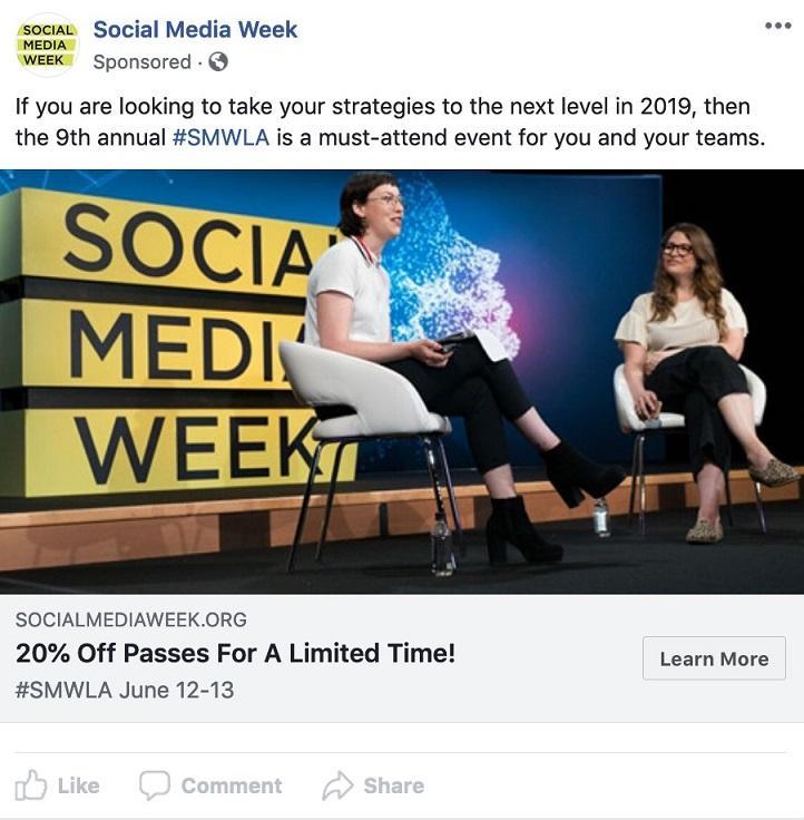 Quảng cáo Facebook Event